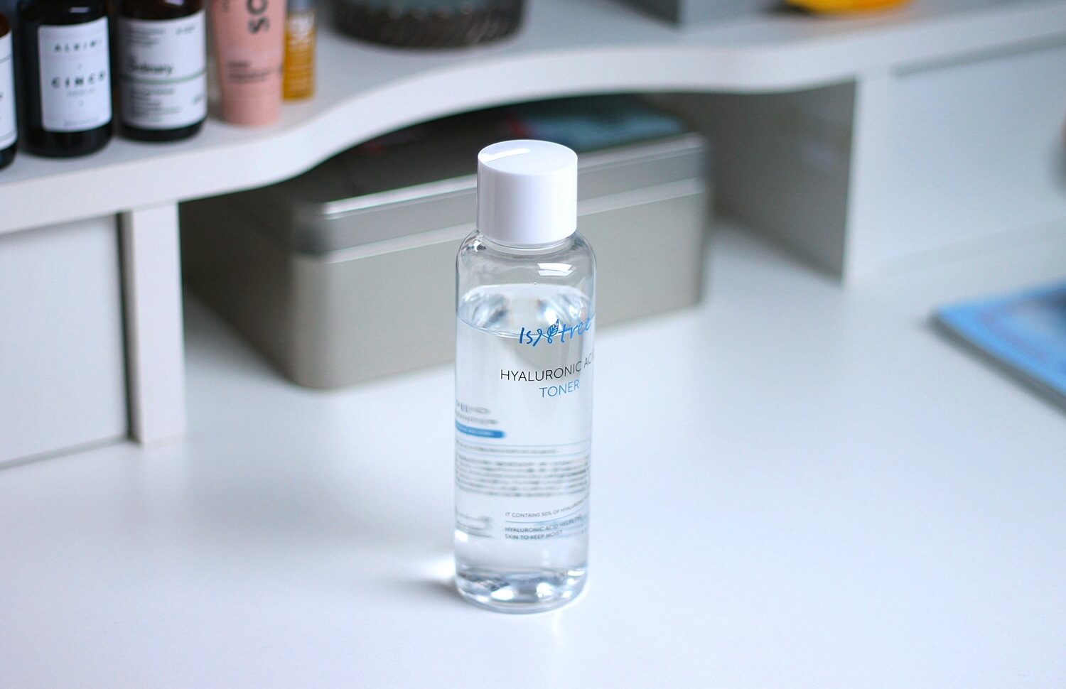 isntree hyaluronic acid toner review recenzija