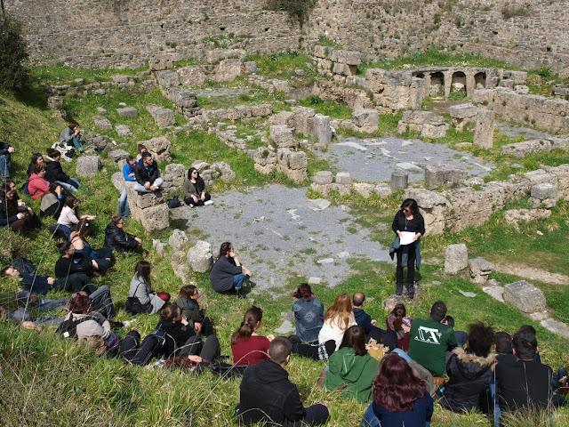 ΝΕΑ ΑΚΡΟΠΟΛΗ - Μια τέλεια μέρα στη Δημητσάνα...