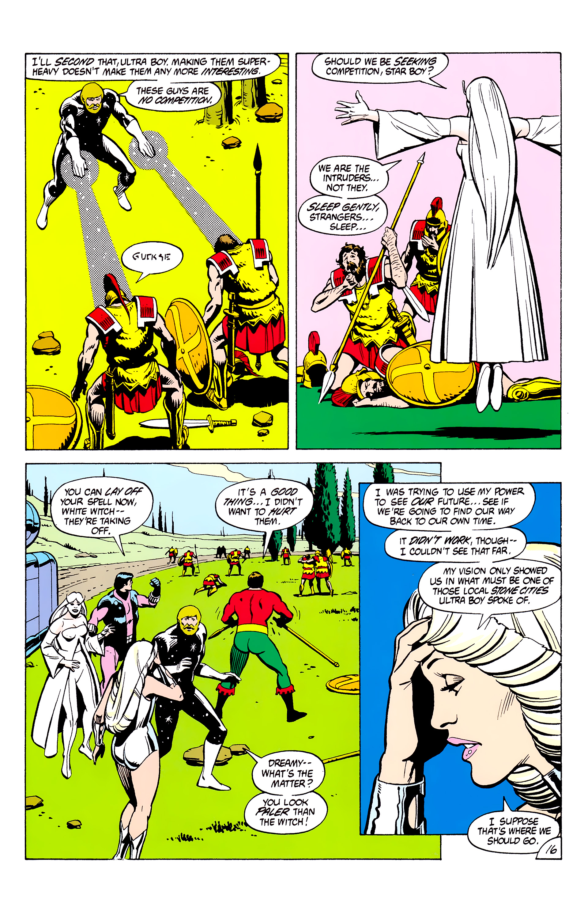 Legion of Super-Heroes (1980) _Annual_2 Page 16