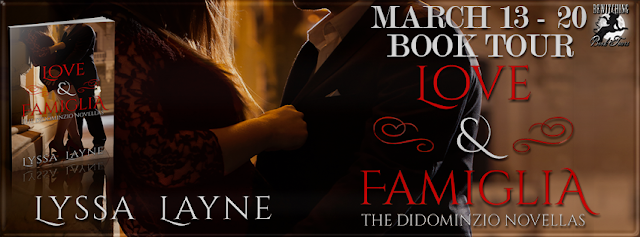 Q&A with Lyssa Layne, author of The DiDominzio Novellas