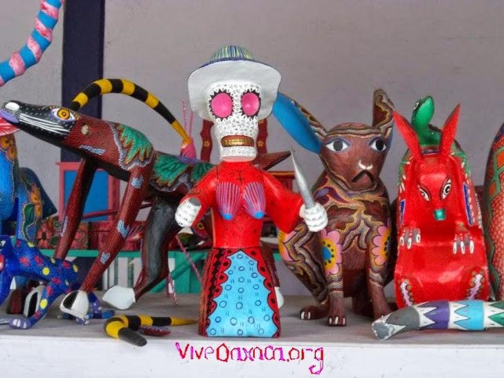Turismo En Oaxaca Alebrijes De San Antonio Arrazola