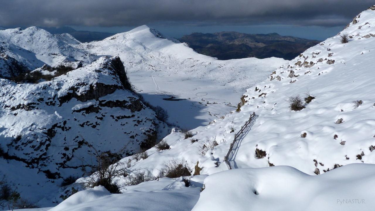 Vega Comeya en Los Lagos de Covadonga