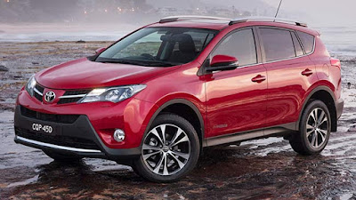 2017 Toyota RAV4 Hybrid red HD Photos