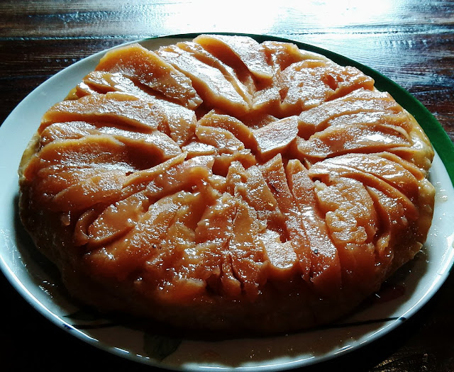 Traditional French Recipe Quince Tatin