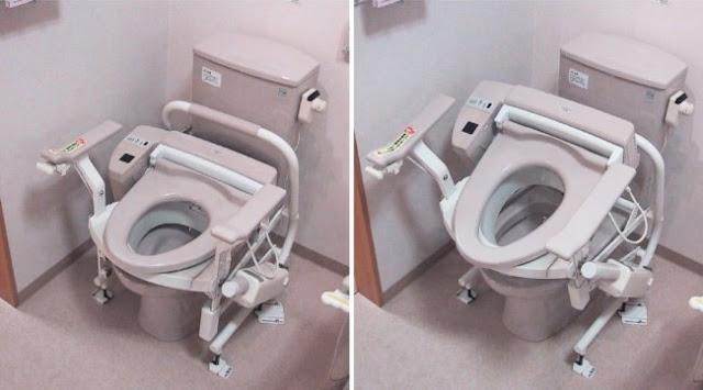 Os banheiros no Japão têm múltiplas funções. As pessoas com deficiência não se preocupam quando entram nesses banheiros