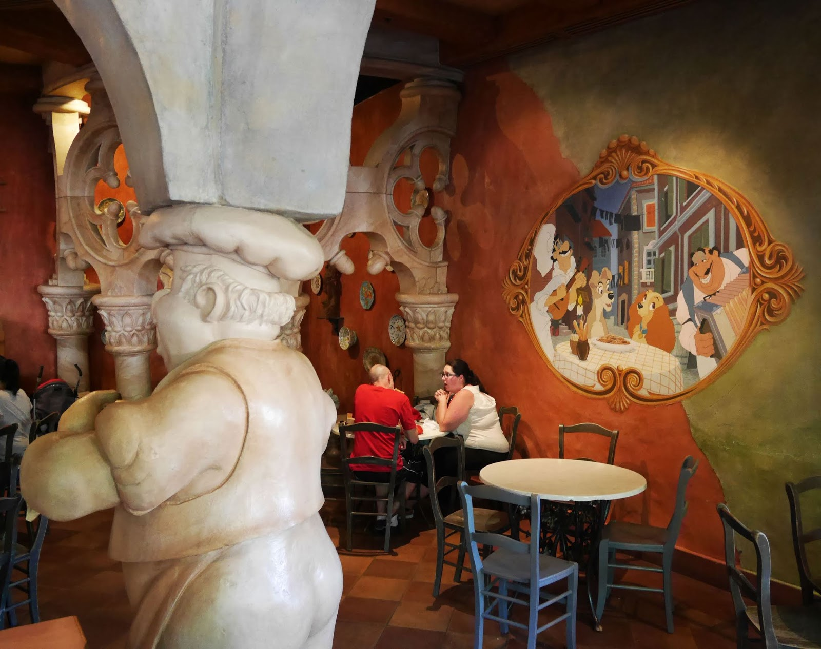 Pizzeria Bella Notte at Disneyland Paris