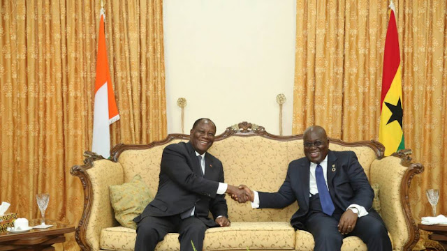 President Akufo-Addo Applauds President Ouattara's Statesmanship On ITLOS Verdict