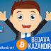 En Güvenilir Bedava Bitcoin Kazanma Yöntemi - İnternetten Para Kazanın !!