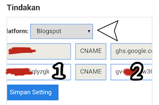 Setting DNS Domain di Zone.id
