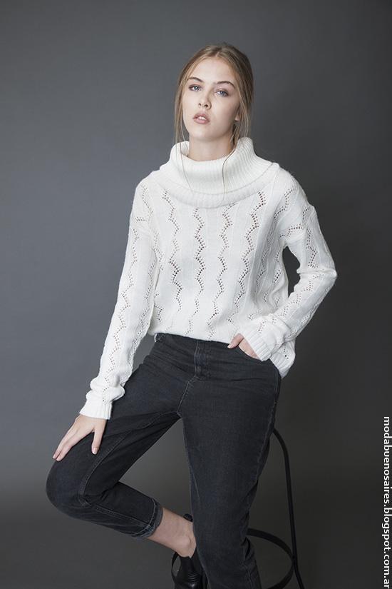 Poleras invierno 2016 ropa de mujer. Moda invierno 2016 Bled.