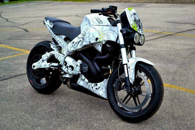 Buell Motorcycle Wrap