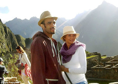 Cameron Diaz, Machu Picchu Hollywood, celebrities Machu Picchu