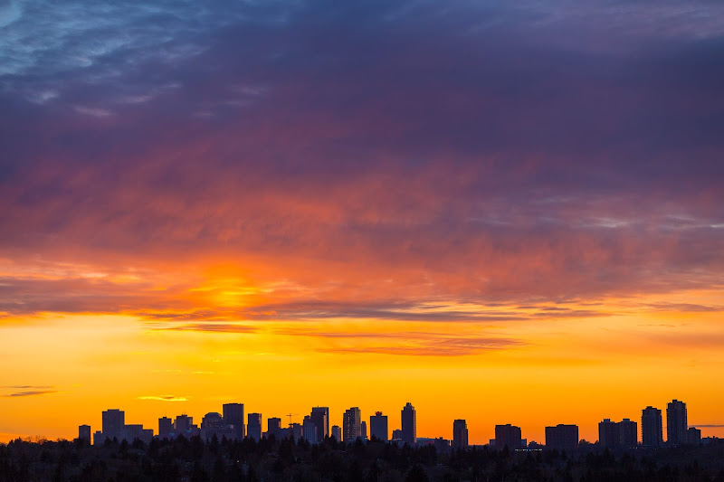 Sunset over Edmonton by Laurence Norah-20