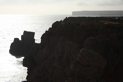 Cabo San Vicente from Sagres in Portugal