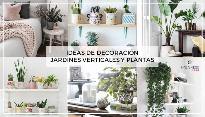 ideas decoración jardines verticales