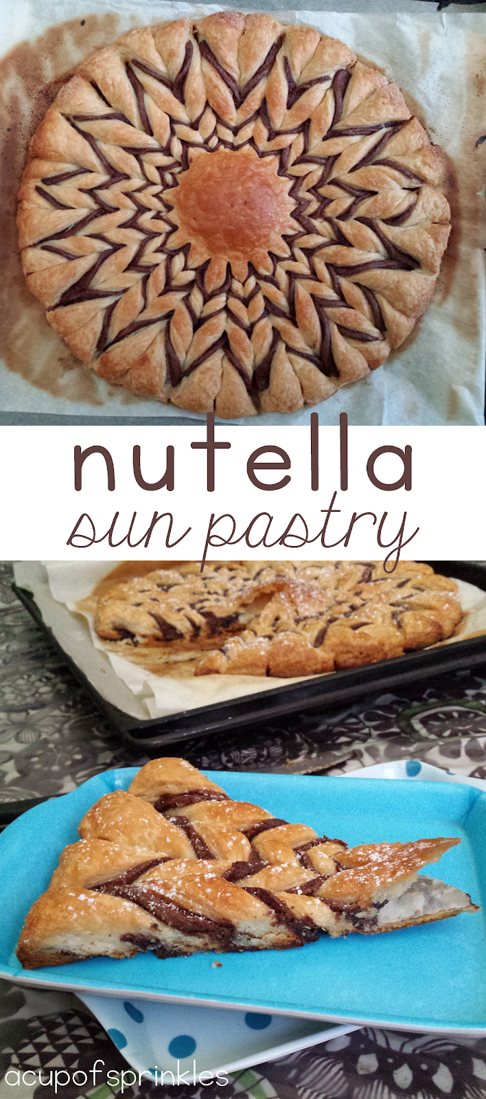 Easy Nutella pastry