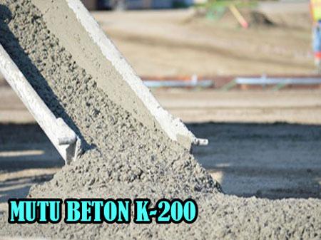 HARGA JAYAMIX MUTU BETON K 200