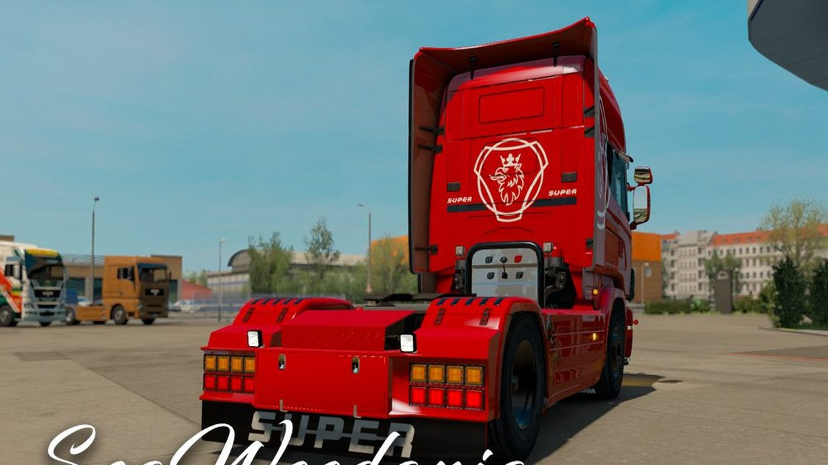 Scania 4 Series Never late – Red Edition