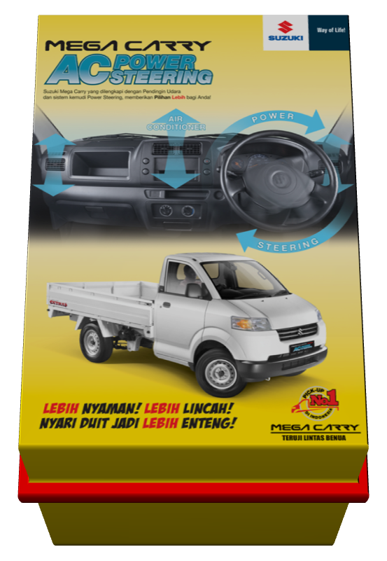 Promo Suzuki Mega Carry AC dan Power Steering