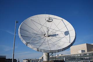 Orientación de las antenas parabólicas