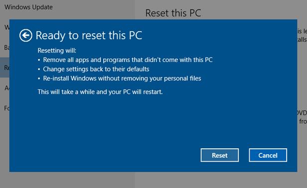 FIX] Windows update undoing changes after/before restart
