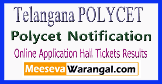 Telangana TS Polycet Notification 2018 Online Application-Hall Tickets Results