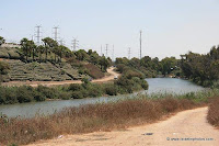 Israel in Photos - Pictures of Nahal (Stream) Hadera Park