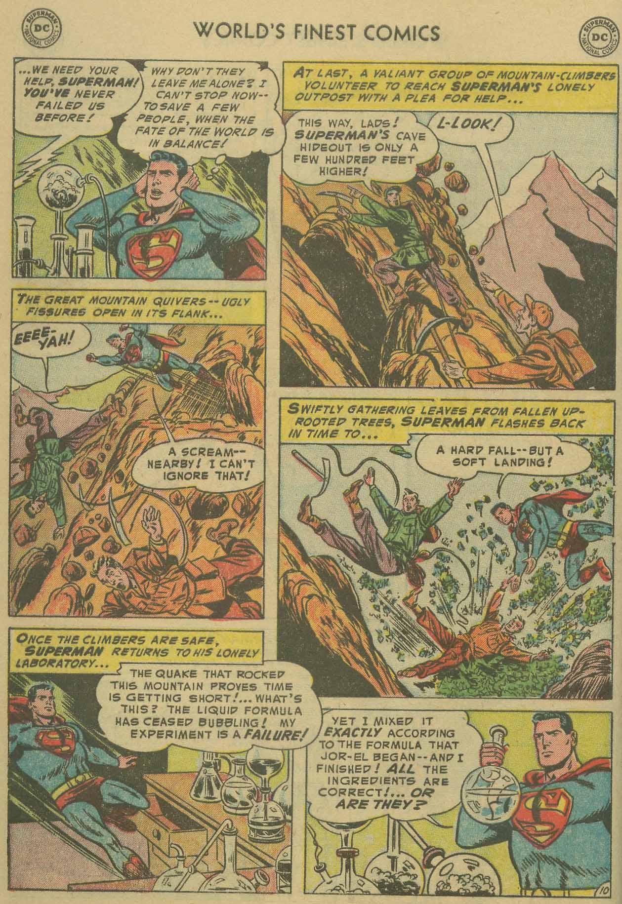 Read online World's Finest Comics comic -  Issue #69 - 12