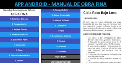 App Android Manual de Obra Fina