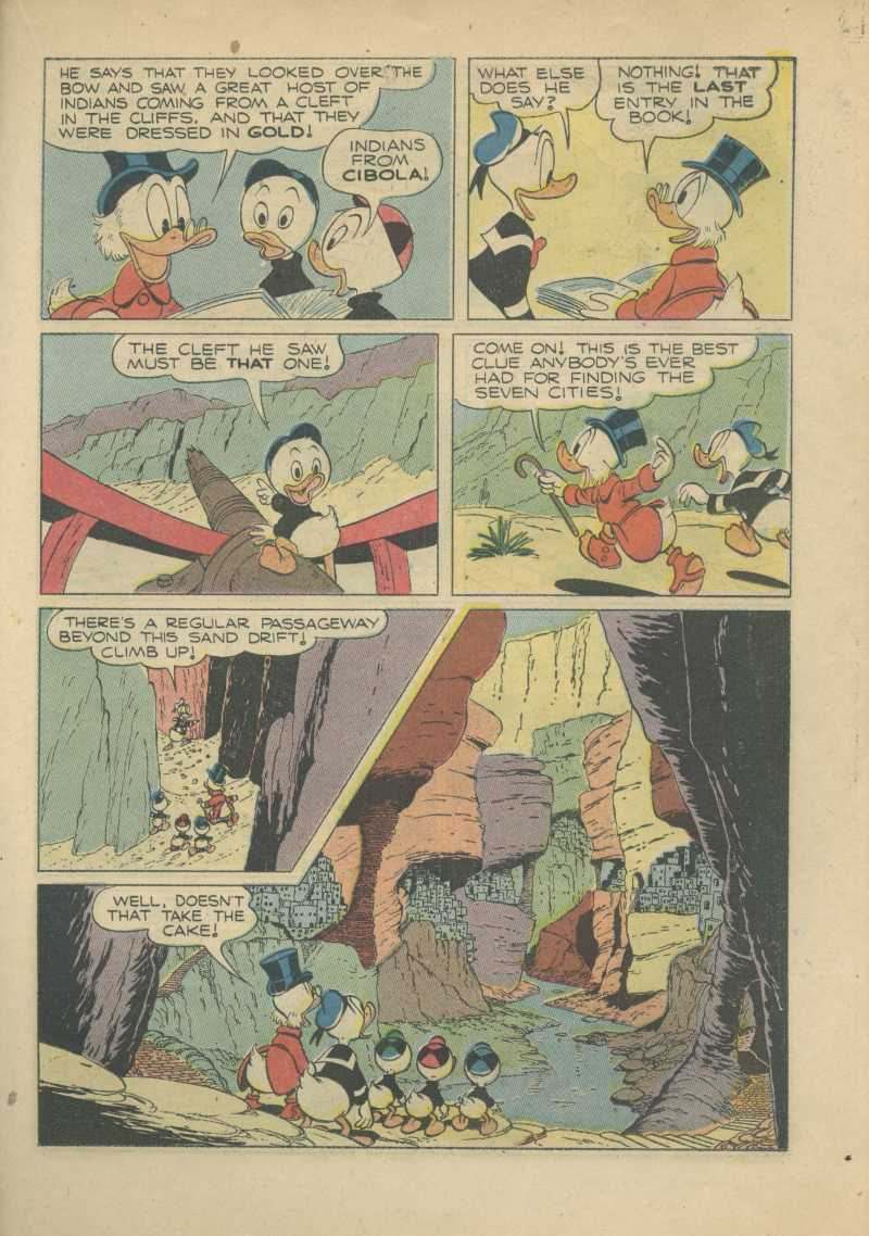 Read online Uncle Scrooge (1953) comic -  Issue #7 - 23