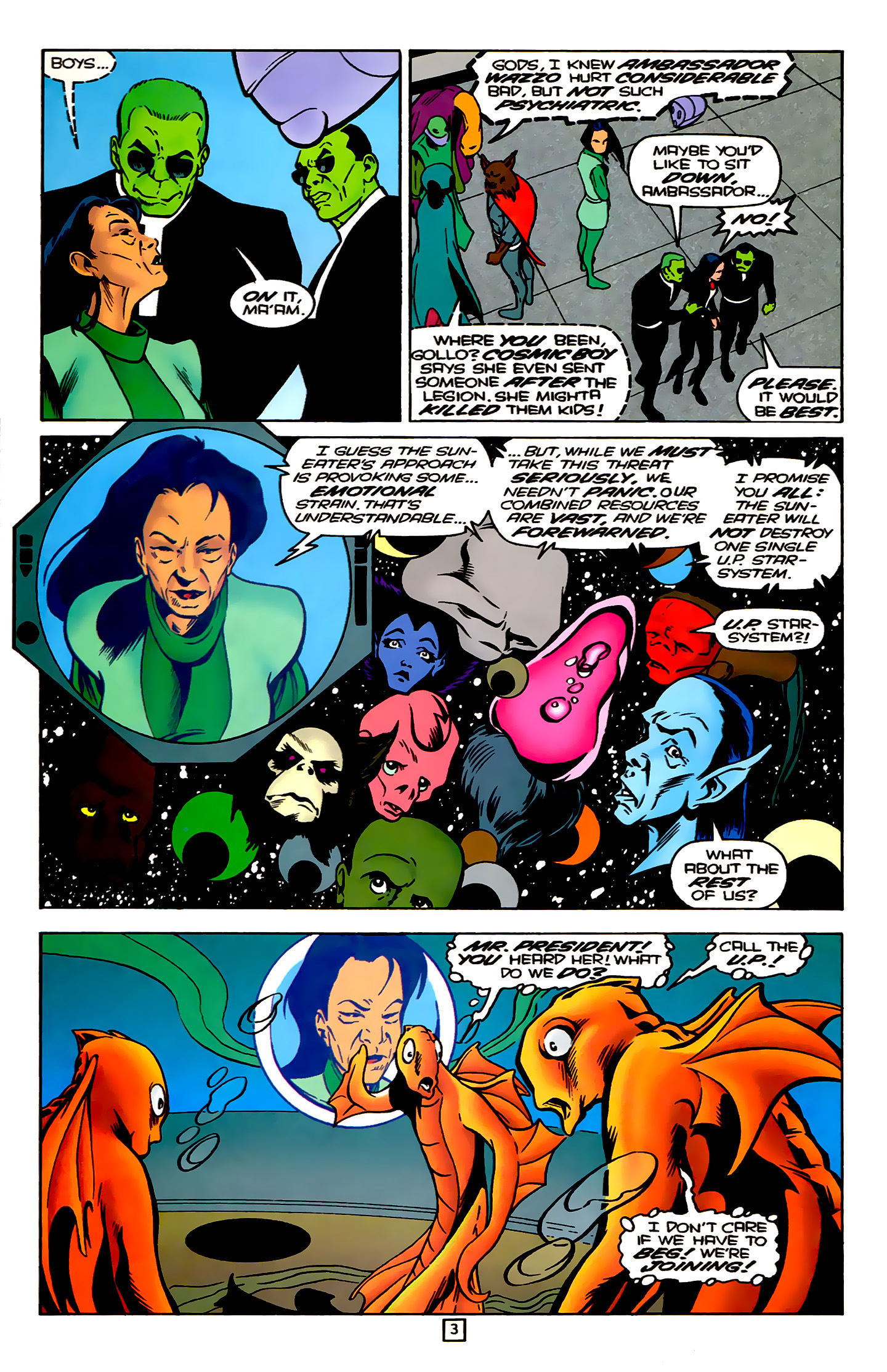 Legion of Super-Heroes (1989) 78 Page 3