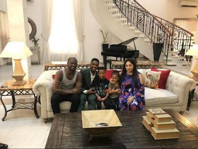Samuel Eto'o, Singer, Peter, Okoye, Entertainment, Sports, Psquare,
