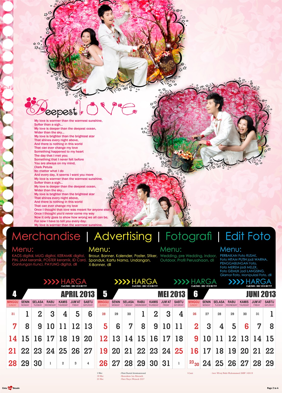Download Kalender 2013 Format CorelDRAW 12 CorelDRAW X3