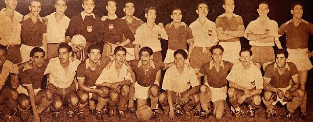 Chile y Bolivia en Campeonato Sudamericano de 1945