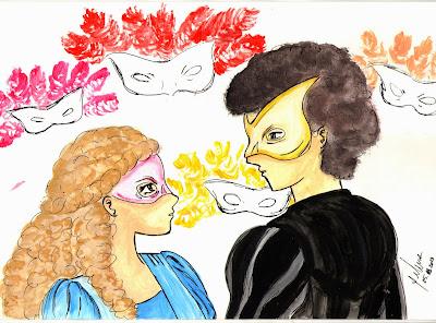 Resultado de imagem para ilustração de romeu e julieta