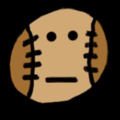 野球のボールが話試合