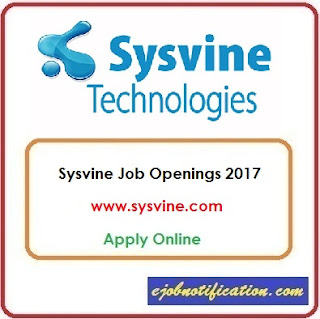 Sysvine Hiring Freshers Systems Engineer Jobs in Chennai Apply Online
