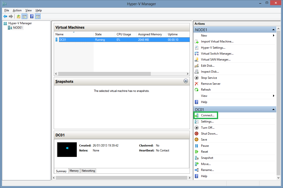 Set up a Virtual Infrastructure at Home with Windows 8 + Hyper-V