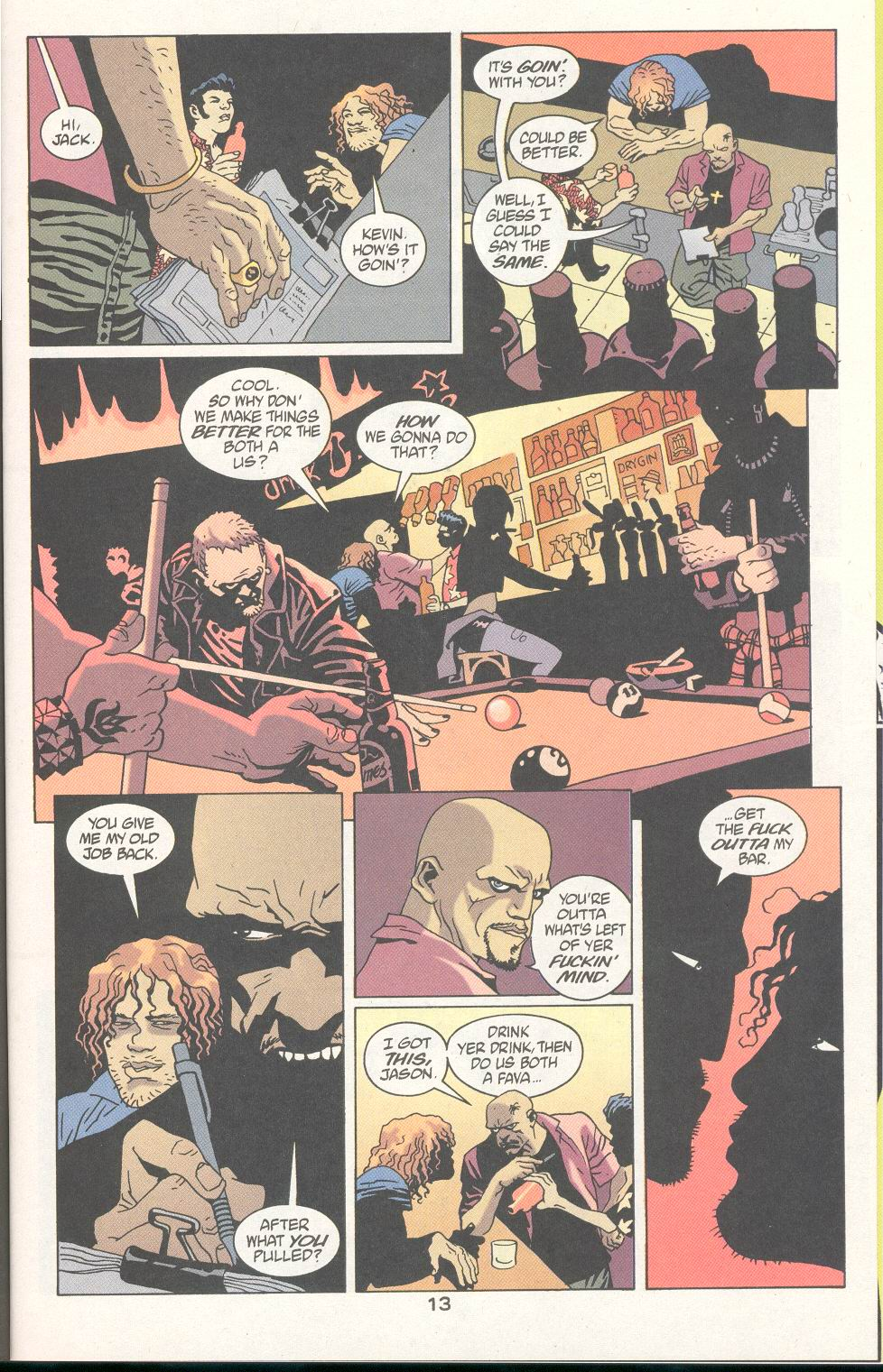Read online 100 Bullets comic -  Issue #21 - 14