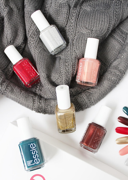 CassandraMyee | NZ Beauty Blog: ESSIE | Winter Collection - Review + Swatches
