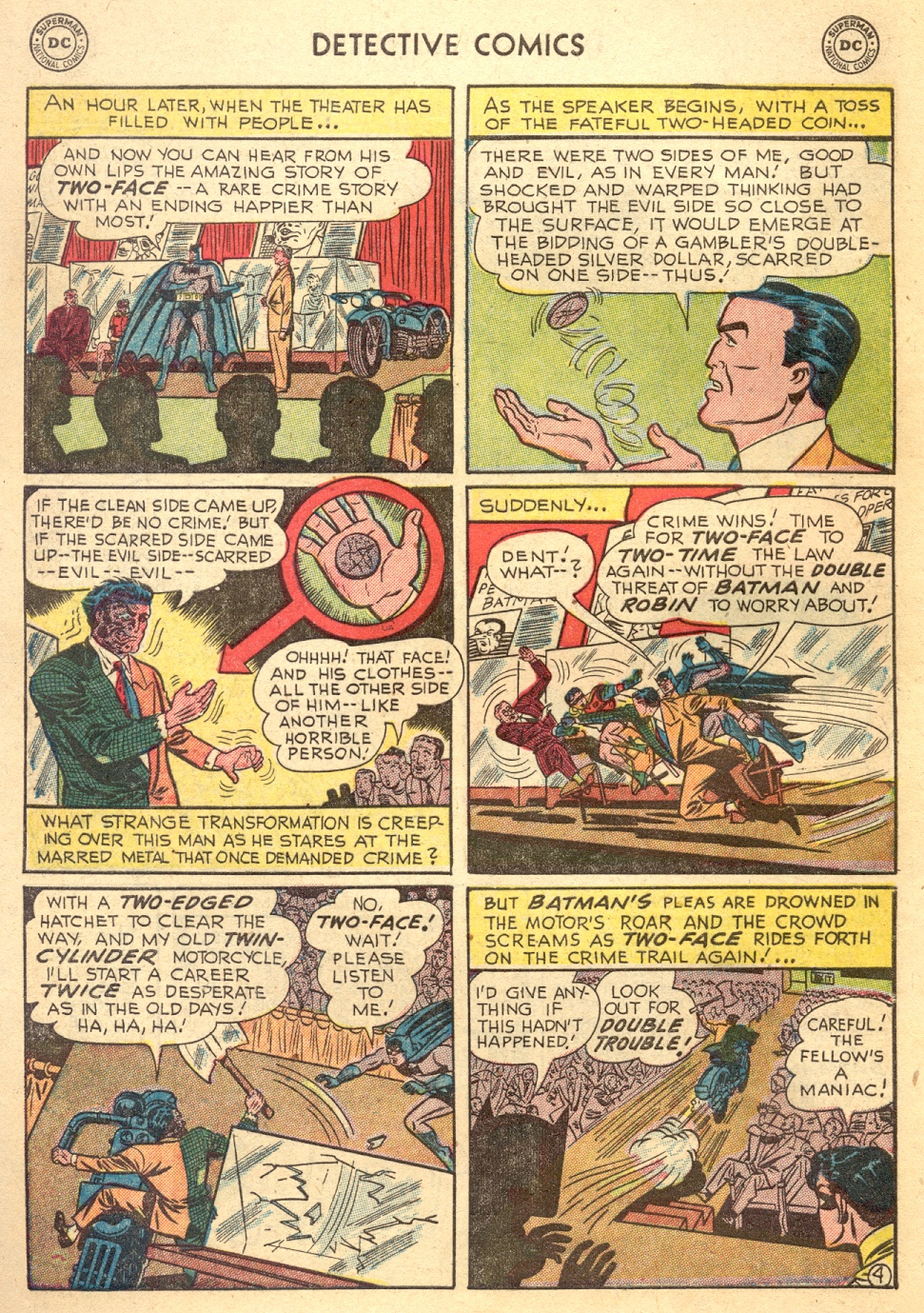 Read online Detective Comics (1937) comic -  Issue #187 - 6