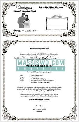 contoh undangan tasmiyah pdf