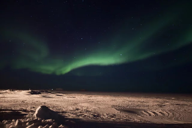 Utqiaġvik aurora