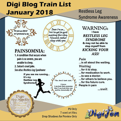 DBTL: Restless Leg Syndrome Awareness