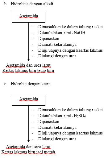 LAPORAN UJI KARATERISTIK SENYAWA KELOMPOK NITROGEN (AMINA, AMIDA DAN NITRO)