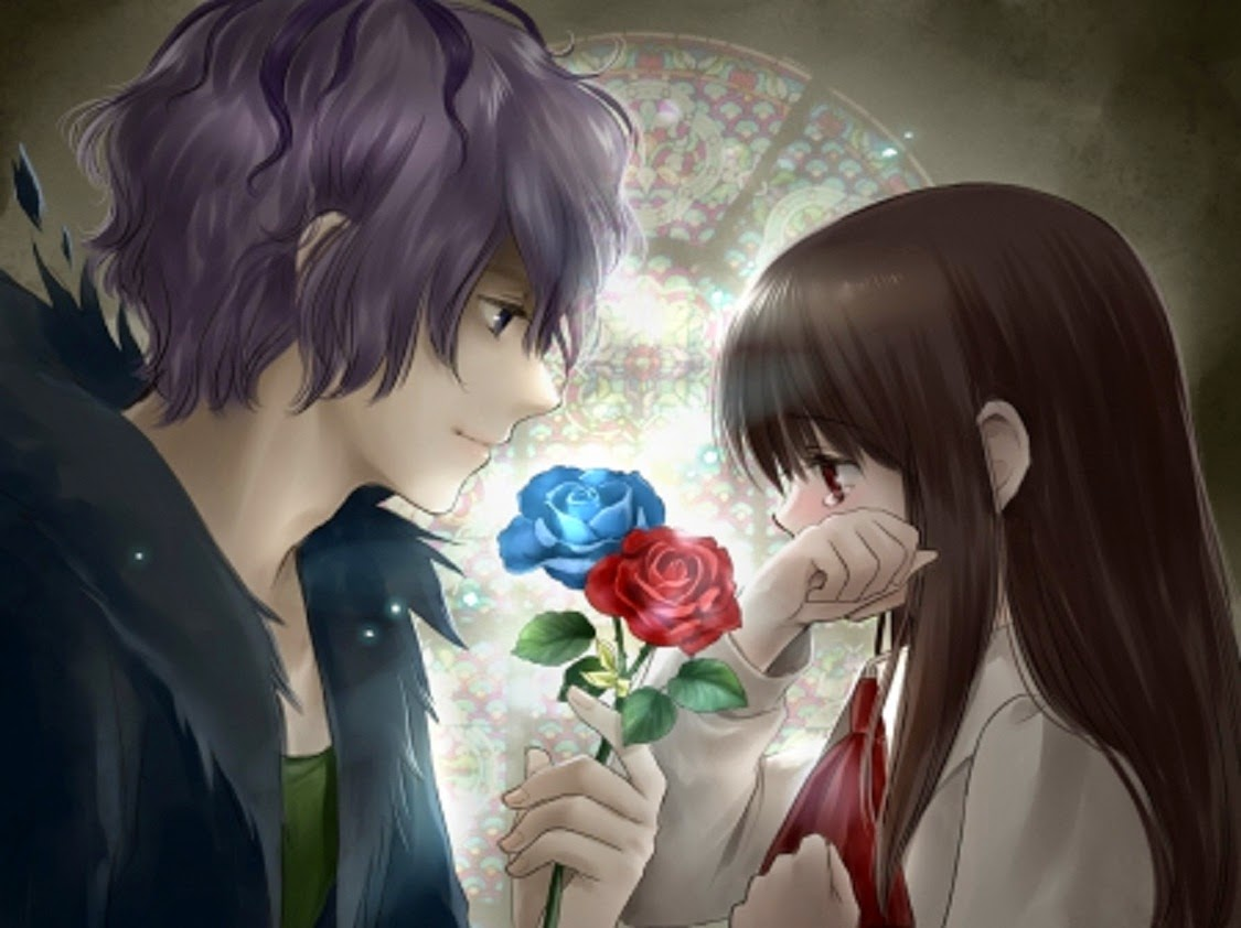 Wallpaper galeries free cute anime love hd wallpaper - Cute anime couple pictures ...