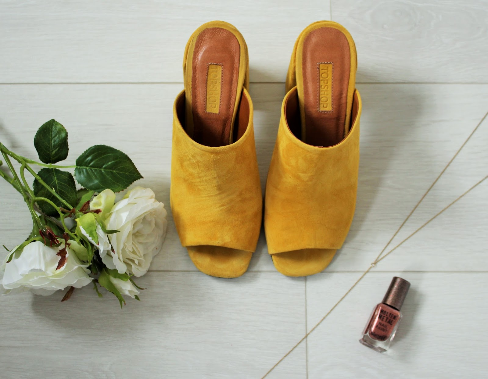 September Favourites 2 - Topshop Mustard Mules