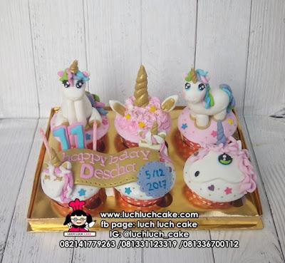 Cupcake Unicorn Cantik