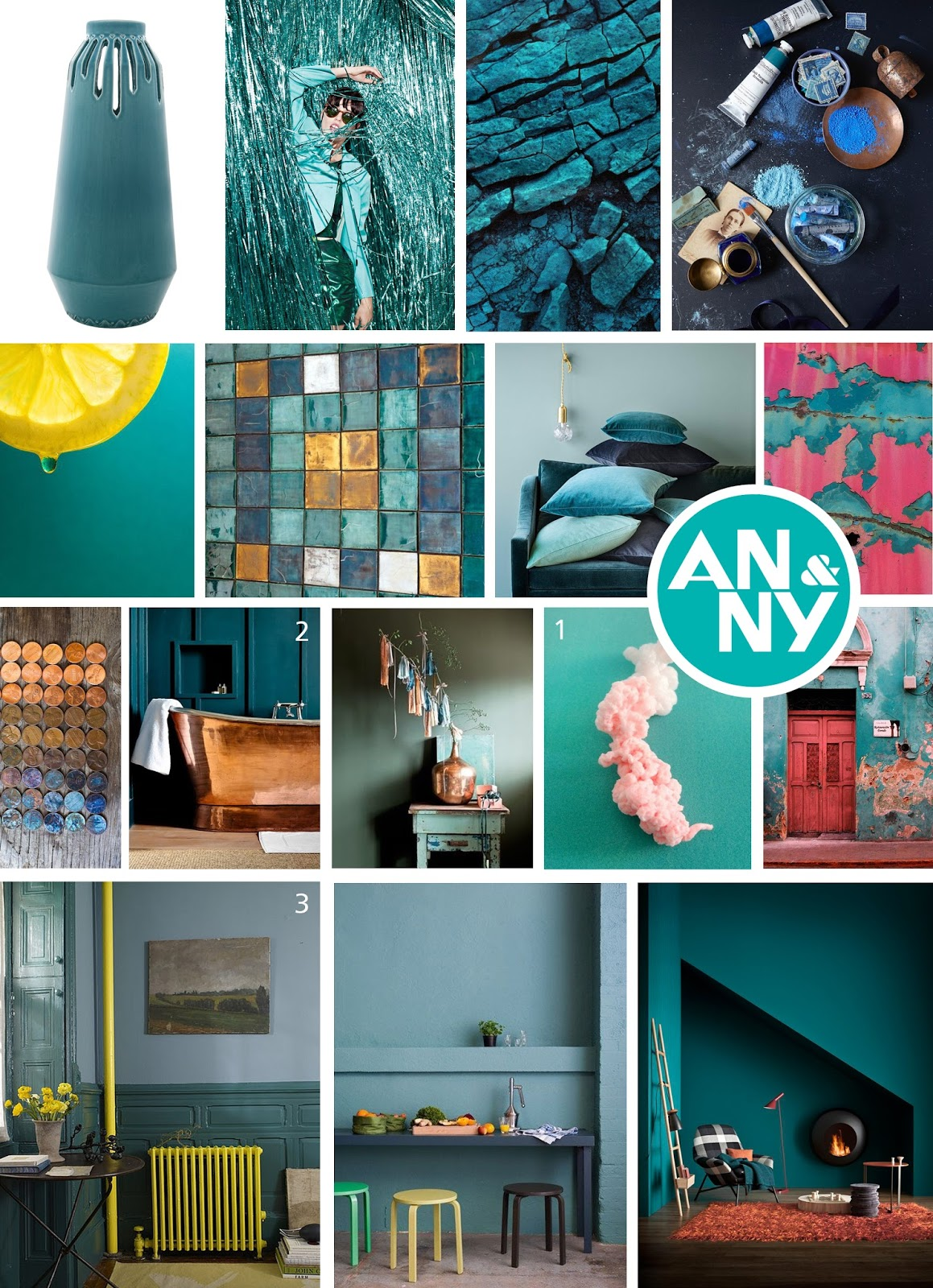 Anny moodboard large stripes by douwe - Kleur en materialen ...