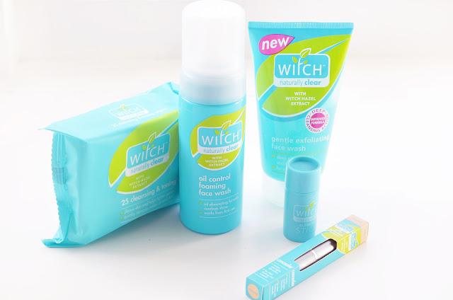 Witch skincare range